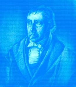 Hegel in Blue