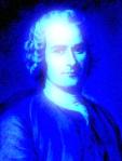 Rousseau in Blue