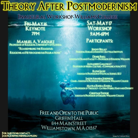 Theory After Postmodernism May 16-17