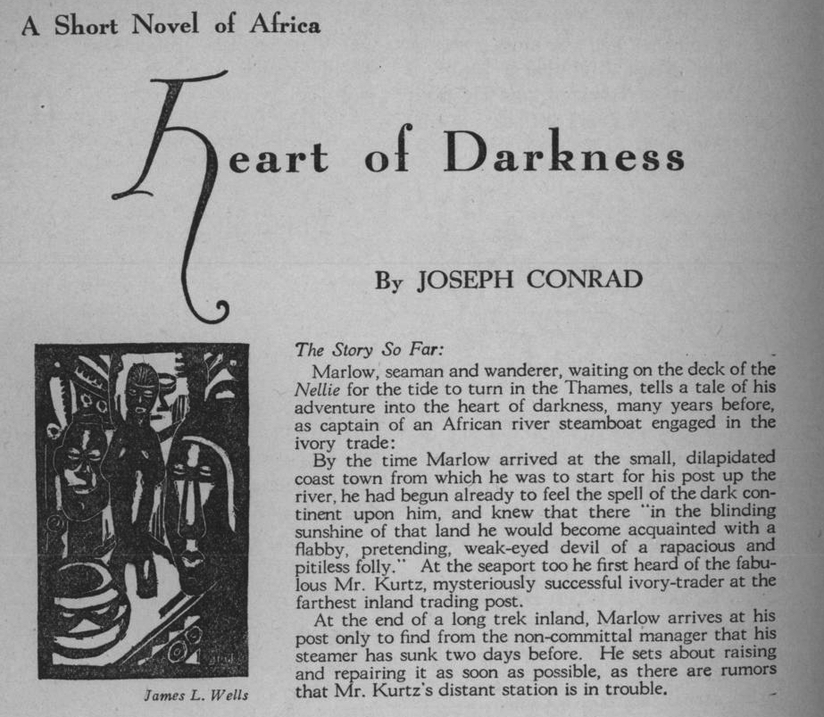 the theme of restraint and mans journey to self in the novel heart of darkness There are many themes that run through the novel heart of darkness there are however two main and significant ones these are the theme of restraint and mans journey into self.